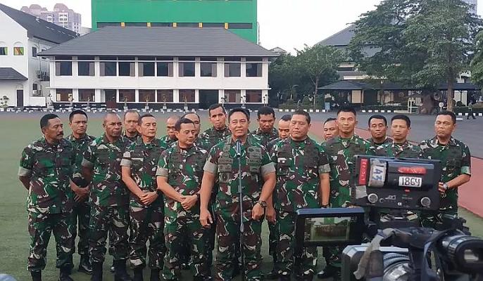 KSAD TNI Kumpulkan Pangdam se-Indonesia.