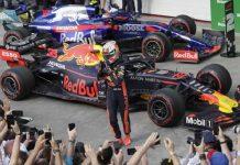 Pembalap Red Bull RacingMax Verstappen.