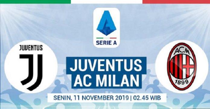 Jadwal Liga Italia : Big Match Juventus vs Milan, Inter vs Verona.
