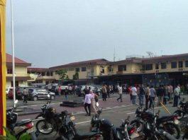 Bom Bunuh Diri Polrestabes Medan.