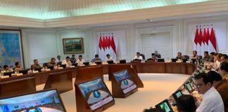 Presiden Jokowi Bahas Langkah Penguatan Neraca Perdagangan.