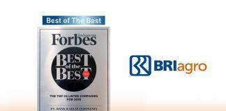 BRI Agro Raih Penghargaan dari Forbes Indonesia.