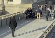 insiden penikaman di Jembatan London, Inggris.