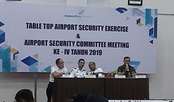 JALIN SINERGITAS UNTUK WUJUDKAN KEAMANAN BANDARA, BANDAR UDARA INTERNASIONAL JUANDA GELAR TABLE TOP SECURITY EXERCISE DAN ASC MEETING.