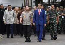 Jokowi Ingatkan TNI dan Polri Jaga Agenda Besar Pembangunan.