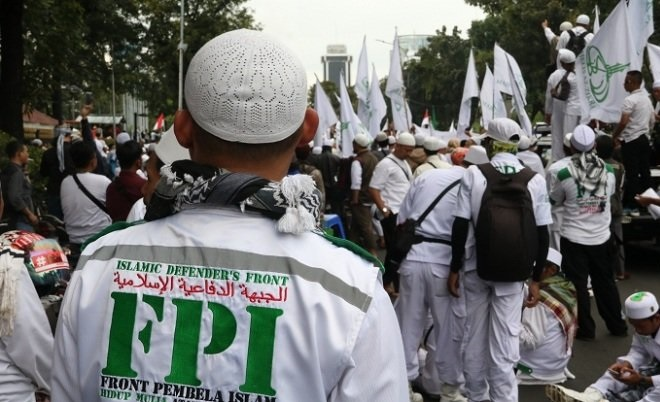 Ormas Front Pembela Islam (FPI).