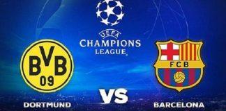 Jadwal Liga Champions: Barcelona vs Borussia Dortmund.