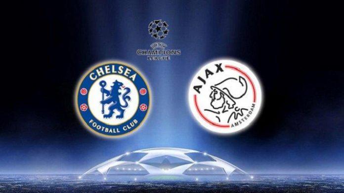 Jadwal Liga Champions : Chelsea vs Ajax.