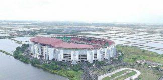 Stadion Gelora Bung Tomo (GBT) Surabaya.