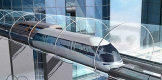 Ilustrasi Teknologi Hyperloop.