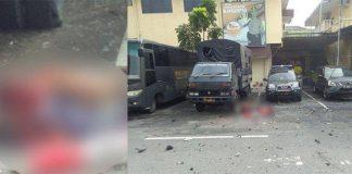 Bom Bunuh Diri di Polrestabes Medan.