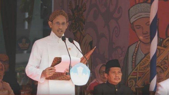Menteri Pendidikan dan Kebudayaan Nadiem Makarim.