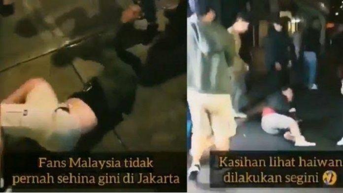 Insiden Suporter Indonesia di Malaysia.