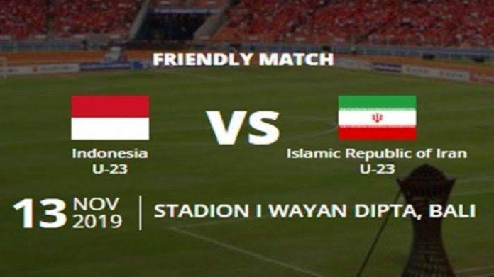 Friendly Match Indonesia U-23 vs Iran U-23.