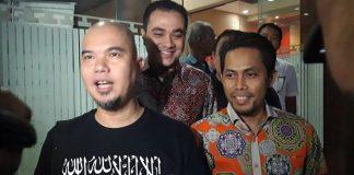 Ahmad Dhani Maju di Pilwali Surabaya 2020.