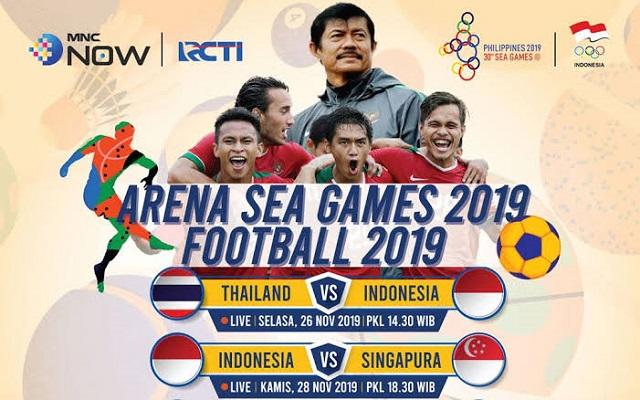 Jadwal Live Timnas Indonesia U-22 vs Singapura.