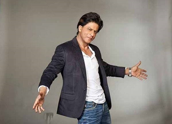King of Bollywood Shahrukh Khan.