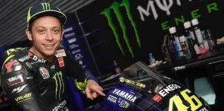 pembalap Monster Energy Yamaha,Valentino Rossi.