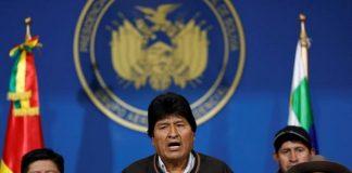 Presiden BoliviaEvo Morales.