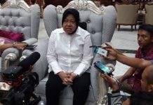 Wali Kota Surabaya Tri Rismaharini.