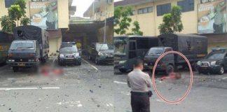 Bom Bunuh Diri di Mapolrestabes Medan.