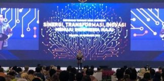 Gara-gara macet, orang nomor satu di Indonesia itu terlambat menghadiri pertemuan tahunan Bank Indonesia (BI).