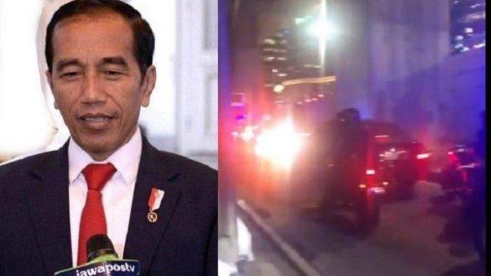 Terjebak Macet, Rombongan Jokowi Tidak Tunjukkan Gaya Mengemudi Agresif.