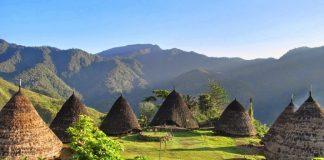 Desa Wae Rebo, Nusa Tenggara Timur.