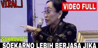Viral Pertanyaan Sukmawati: Berjasa Mana Nabi Muhammad atau Sukarno?