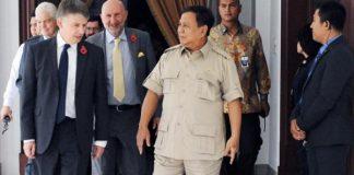 Prabowo Temui Pejabat Keamanan Siber Inggris.