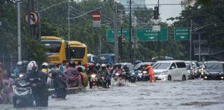 Berikut Lokasi Rawan Banjir di Jakarta.