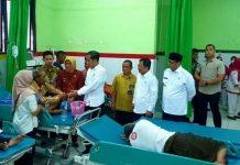 Presiden Jokowi Sidak di RSUD Cilegon.