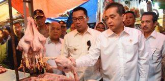 Mendag Sidak Pasar Kosambi Bandung.