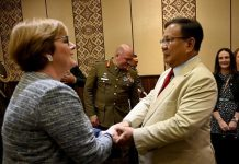 Prabowo Bertemu Menhan Australia Bahas Kerja Sama Pertahanan.