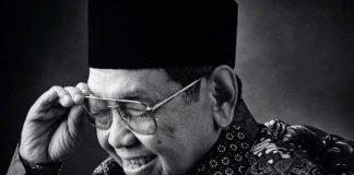 Abdurrahman Wahid atau akrab disapa Gus Dur.