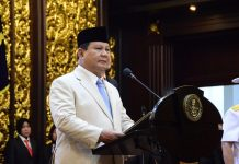 Menteri Pertahanan (Menhan) Prabowo Subianto.