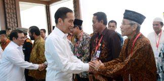 Presiden Jokowi Apresiasi Dukungan Tokoh Masyarakat Kaltim untuk Ibu Kota Baru.