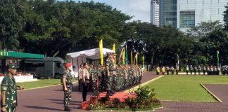 Panglima TNI-Kapolri Pimpin Apel Pengamanan Natal dan Tahun Baru 2020.