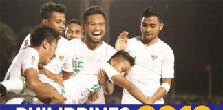 SEA Games 2019: Timnas Indonesia U-22 dikalahkan Vietnam 1-2.