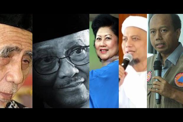 Lima Tokoh Bangsa yang Wafat di Tahun 2019.