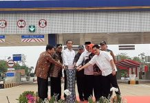 Presiden Jokowi Resmikan Tol Kunciran-Serpong.