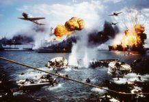 Pengeboman Pearl Harbor.