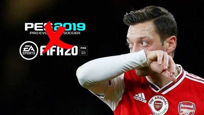 Ozil Dihapus dari Video Game Sepak Bola di China.