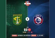 Persebaya vs Arema FC.