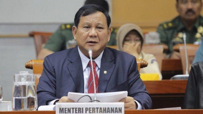 Menhan Prabowo Subianto.