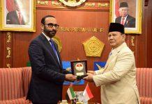 Indonesia-UEA Kerjasama Industri Pertahanan dan Pertukaran Taruna.
