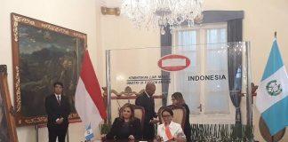 Indonesia dan Guatemala Sepakat Lawan Diskriminasi Sawit.