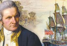 Penjelajah asal Inggris, James Cook, tiba di wilayah Hawaii.