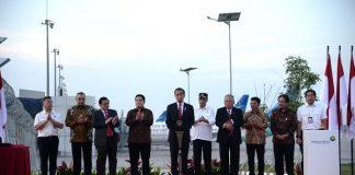 Resmikan Landasan Pacu 3, Presiden Harapkan Peningkatan Layanan Bandara Soekarno-Hatta.