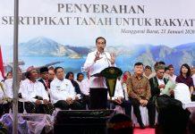 Presiden Jokowi Ingin Kembangkan Labuan Bajo sebagai Destinasi Wisata Dunia.